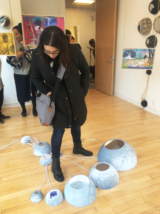 Emily Casden - Lulu Weng install