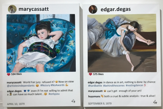 Laurence de Valmy instagram paintings