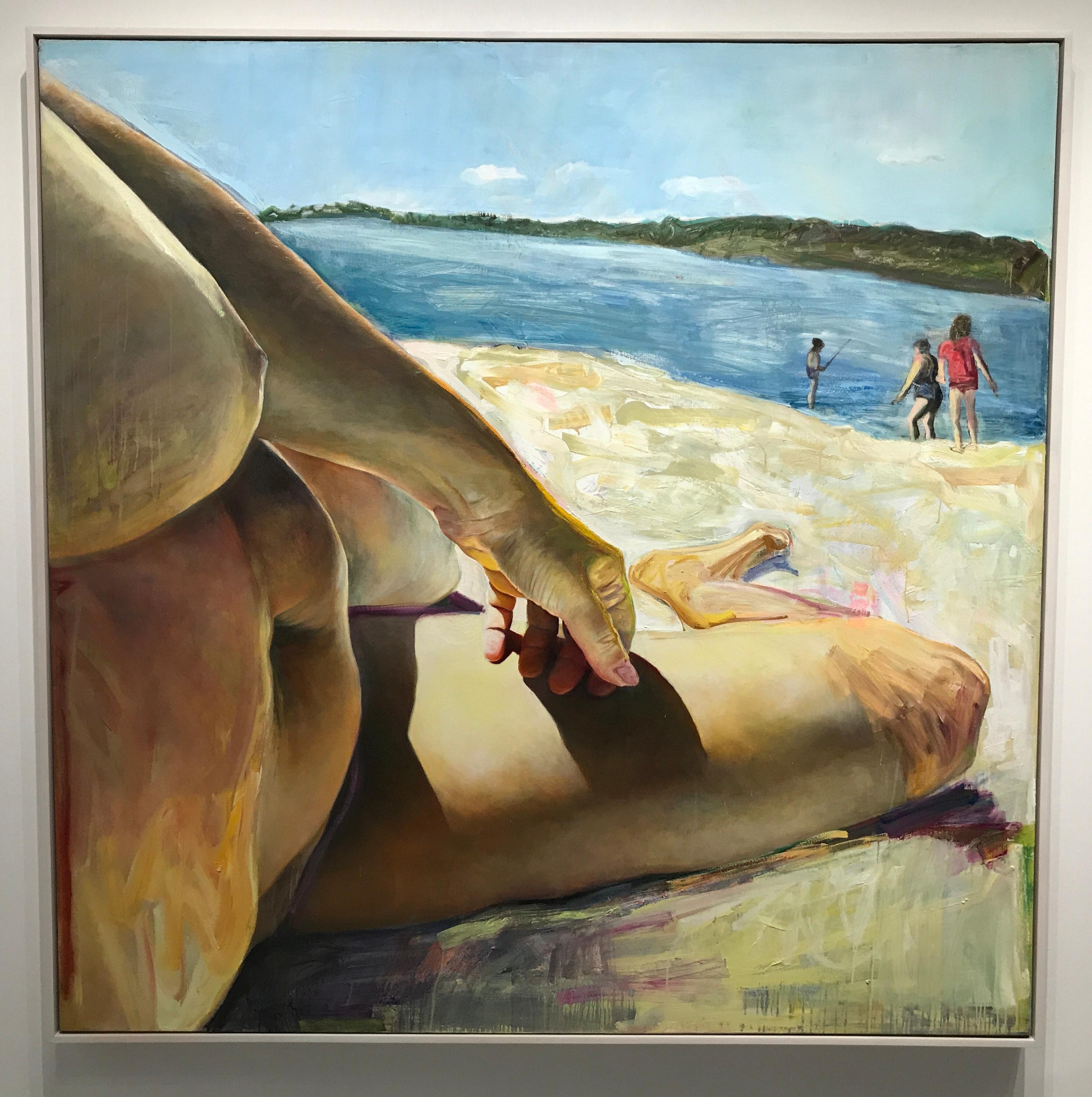 Joan Semmel Beachbody 1985