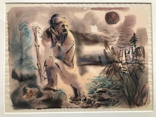 Grosz The Wanderer 1934