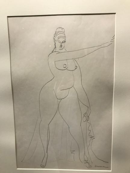 Gaston Lachaise Draped Figure