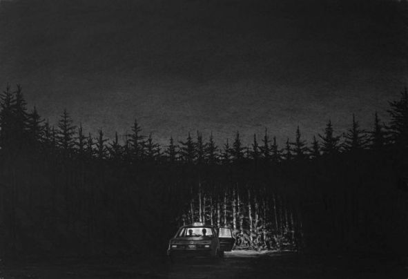 Trevor-Guthrie-Wald-Taxi.-Drawing-95x65cm.-a-space-gallery