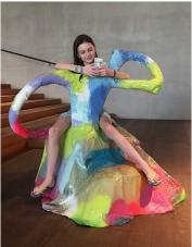 Jillian Mayer, Slumpie, in use at the Perez Art Museum, Miami. Photo courtesy of the artist