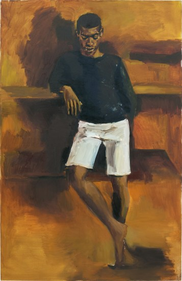 Yiadom-Boakye Leave a Brick Under the Maple