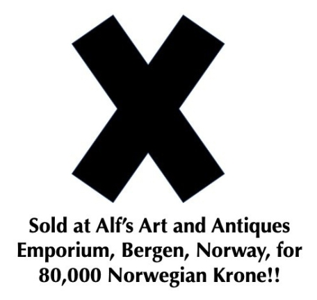 Norwegian Sold Black X