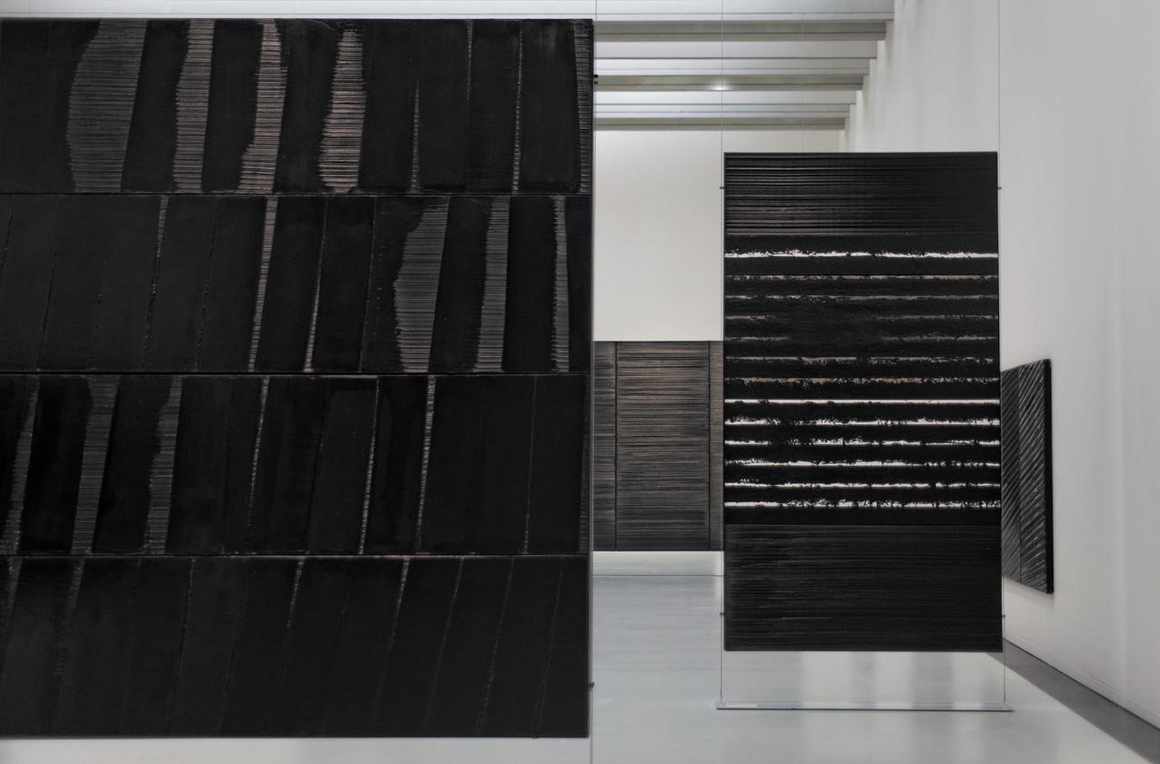 Soulages - install shot