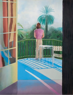 Hockney - Sur La Terrasse