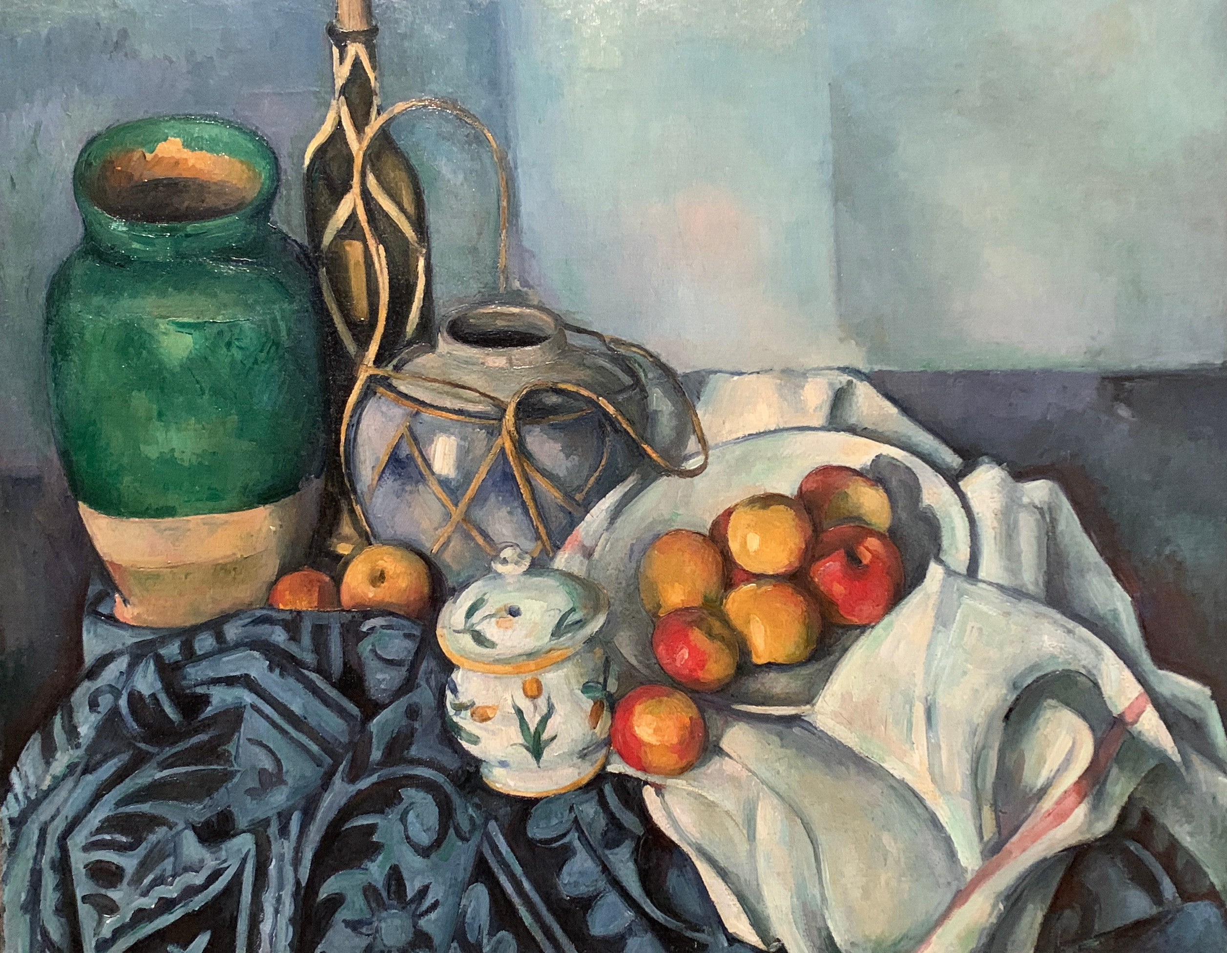 Cezanne-Still Life w Apples Getty
